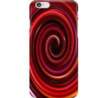 Red Swirl IPhone & IPod case iPhone Case/Skin