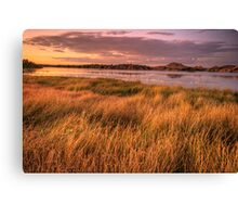Willow Lake Violet Canvas Print