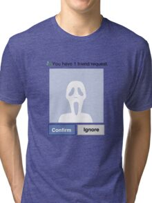 Friends? Scream Tri-blend T-Shirt
