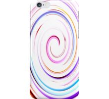 White Swirl IPhone & IPod case iPhone Case/Skin