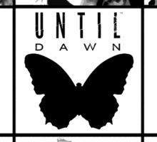 Until dawn - main characters Sticker