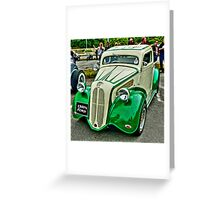 1950's Ford Anglia/Popular Pickup Greeting Card