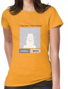 Friends? V Womens Fitted T-Shirt