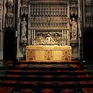 St.Albans Cathedral - The Altar by rsangsterkelly
