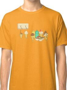 Ice Cream Hair Fun Classic T-Shirt