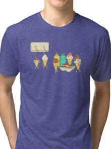 Ice Cream Hair Fun Tri-blend T-Shirt