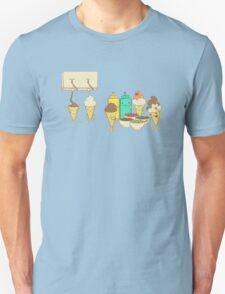 Ice Cream Hair Fun Unisex T-Shirt