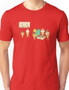 Ice Cream Hair Fun Unisex T-Shirt