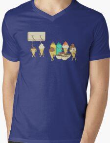 Ice Cream Hair Fun Mens V-Neck T-Shirt