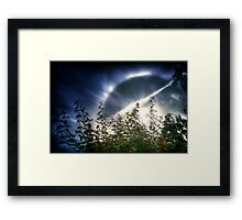 """Your halo of my soul..."" Framed Print"