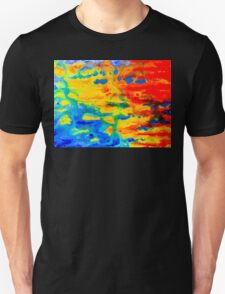 Color Splash Abstract T-Shirt