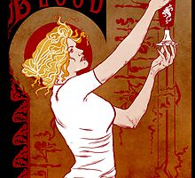 True Blood Nouveau red by Nana Leonti