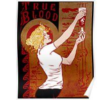 True Blood Nouveau red Poster