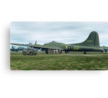 B-17 Bomber Crew Canvas Print