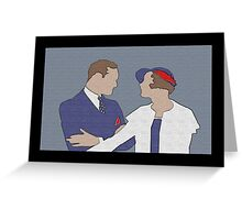 'The Conversation' I Believe In You Greeting Card