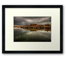 Rocky Point Wide Framed Print