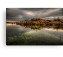 Rocky Point Wide Canvas Print