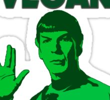 SPOCK VEGAN Sticker
