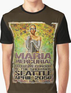 Maria Mercurial 2050 Concert Poster Graphic T-Shirt