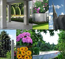 Summer at the Preston Temple - Collage by BlueMoonRose