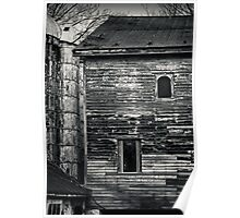 Old House and Silos Poster