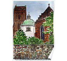 Poland,  Warsaw - Virgin Mary Church Poster