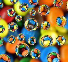 Colorful Drops 5 by flowerchildjlr
