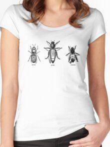 Honeybees Women's Fitted Scoop T-Shirt