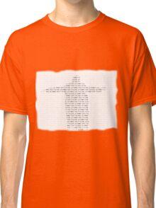 It's Just a Magic Trick Classic T-Shirt