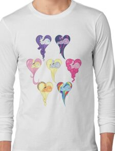 Group Heart Long Sleeve T-Shirt