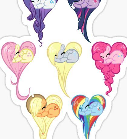 Group Heart Sticker