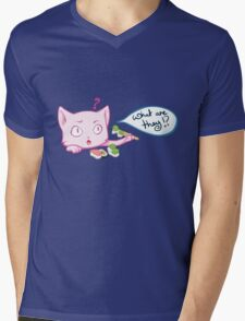 what are they!? Mens V-Neck T-Shirt