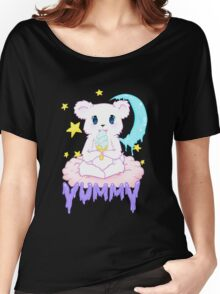 Moony Bear Women's Relaxed Fit T-Shirt