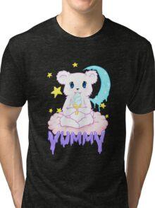 Moony Bear Tri-blend T-Shirt