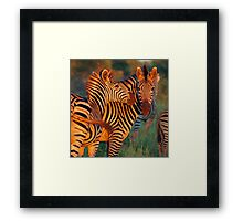 Swish of the tail Framed Print
