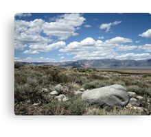 Something About The Clouds Canvas Print