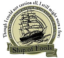 Ship of Fools - Grateful Dead Lyric Photographic Print