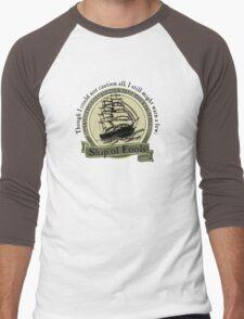 Ship of Fools - Grateful Dead Lyric Men's Baseball ¾ T-Shirt