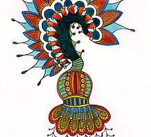Pen and Ink by Amanda Hunt by KeLu