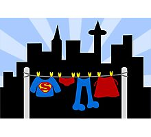 Super Laundry Photographic Print