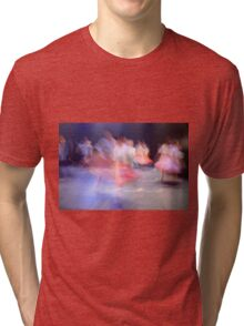 A group of Dancers in motion  Tri-blend T-Shirt