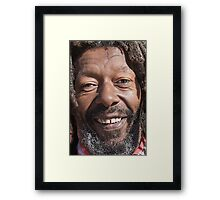happy day with Mr Butch Framed Print