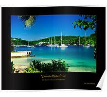 Vanuatu Waterfront Poster