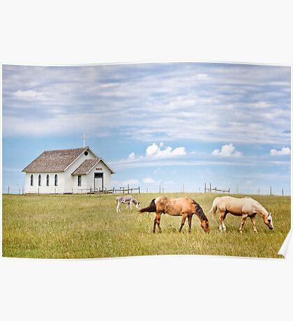 Town 1880, South Dakota Poster