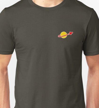 The Lego Classic Space Logo (Small Logo) Unisex T-Shirt