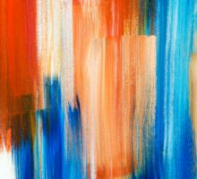Rhythm Abstract Sticker