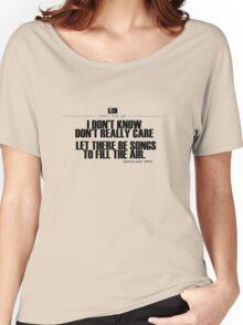 Grateful Dead Lyric -Ripple. Women's Relaxed Fit T-Shirt