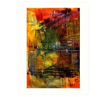 The House Jack Built in the Town Angela Imagined Art Print