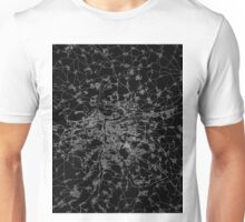 Prague map Czech Republic Unisex T-Shirt