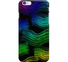 Rainbow Waves iPhone Case/Skin